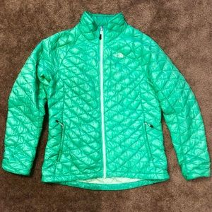 The North Face thermoball jacket in Kelly green